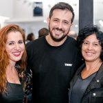 Lizandra Miguel, Emerson Soares e Eliane Steyka