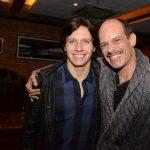 Lourenço e seu pai Arnaldo Brenha