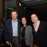 Marcelo Trindade, Kátia Leite Barbosa e Frederico Chinelli