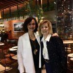 Maria Helena Vidal e Mary Galvão no Rubayat