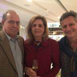 Pedro Henrique Paiva e Beth Savio com Paulo Reis