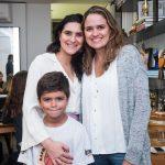 Roberta do Rio, João e Rebecca Alcantara