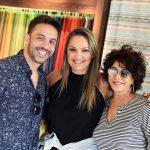 Alexandre Cardim, Meri Soares e Rachel Molinaro