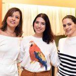 Flavia Pontes, Elisa Bragança e Cris Vianna