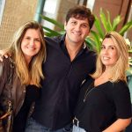 Patricia Fiuza, Marcelo Orlean e Flavia Coelho