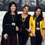 Aline Henriques, Valéria Machado Colela e Ana Carolina Beltrão