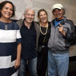 Ana Maria Magalhães, Carlos Lyra, Valéria Machado Colela e Abel Silva