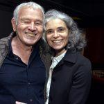 Carlos Lyra e Magda Botafogo