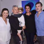 Cassia Bomeny, Daniel Feingold, filho Dante, Suzana Queiroga e Franz Manata