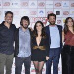Cauã Reymond, Daniel Furlan, Tata Werneck, Alejandro Claveaux e Luciana Paes