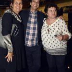 Christina Martins, Luiz Mena Barreto e Gilda Mattoso - Viúva de Vinícius de Moraes