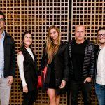 Frederico Brandão, Nicole Lamartine, Marina Boite, Pedro Tinoco e Giancarlo Costanzo