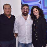 José Carlos Garcia, Marcelo Velloso e Bibiana Macedo