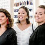 Juliana Almeida, Paula Rodrigues e Renata Sommer