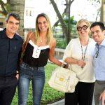 Mario Amorim, Bianca Prior, Regina Prior e Luis Fernando Amorim