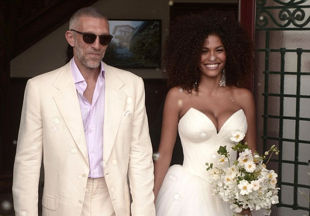 Vincent Cassel casa-se outra vez na França