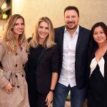 Aline Araujo, Carol Freitas, Marcos Marcello e Claudia Chou