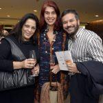 Adriana Monteiro, Rogéria Gomes e Maurício Baduh