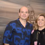 Alan Fontes e Luciana Caravello