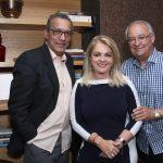 Amaro Leandro,Glorinha Tavora e Bill Crone