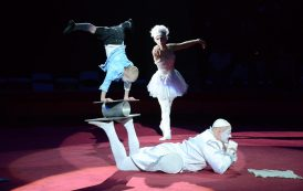 Circo de Estrelas da Rússia se apresenta no Teatro Bradesco