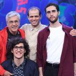 Caetano Veloso mais Moreno, Zeca e Tom: como ficou provado em Ofertório, com os quatro no palco, Veloso é sinônimo de talento. Sem distinção de idade