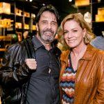 Claudio Pereira e Marcia Peltier
