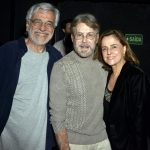 Aderbal Freire , Edwin Luisi e Marieta Severo