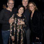 Éric Assous , Maria Siman , Isio Ghelman e Marieta Severo
