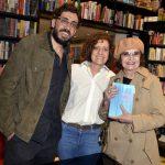 Matheus Leitão Netto , Miriam Leitão e Rosamaria Murtinho