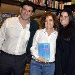Jorge Oakim , Miriam Leitão e Joana Oakim