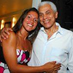Cecília e seu pai Paulinho da Viola