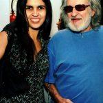 Janaína Diniz e seu pai Ruy Guerra