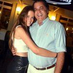 Maria Eduarda e seu pai Catito Peres