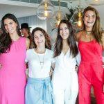Daniela Sarahyba, Renata Azevedo, Rafaela Ferrari e Fernanda Liz