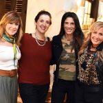 Eva Taquechel, Fernanda Bergier Cardoso, Vanessa Borges e Patricia Hall