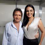 Roberto Carlos e Gardênia Cavalcanti