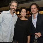 Guilherme Fiuza, Cecília Malan e Pierre Antoine