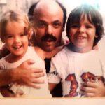 João Luiz Garcia de Souza, o famoso Janjão, somewhere in time com Mariana e João Pedro