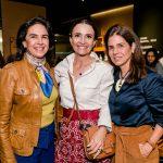 Joy Garrido, Andrea Natal e Angela Hall