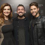 Mayana Neiva, Vitor Diamantino e Diego Gialanza
