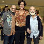 Nilton Bicudo, Mariana Lima e Renato Borghi