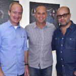 Paulo Ricardo Magalhães, Ricardo Kimaid e Guilherme Schiller