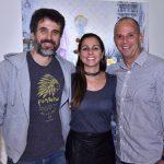 Eriberto Leão, Juliana e Ricardo Kimaid