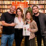 Pi, Paula Costa, Andrea Tuttman e Rodrigo Suricato