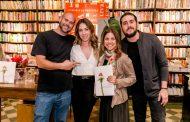Lançamento do livro de Paula Costa agita livraria no Rio
