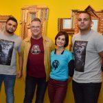 Rafael Ancelmo, Fernando Campana, Cristina Tolove e Ronnie Barbosa