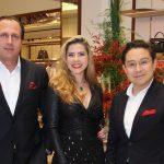 Rodrigo Ortiz, Bianca Marques e Jesus Martinez Perón