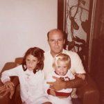 Túnel do tempo Francisco Dornelles com Luciana e Mariana