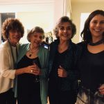 Vera Vianna, Mitsi de Almeida Magalhães, Betty Faria e Renata de Almeida Magalhães